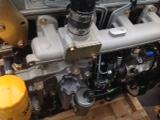 JCB backhoe engine