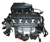 Japanese Honda D17A Vtec engine for Civic HX